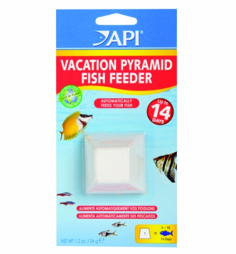 Sale API 14-Day Pyramid Automatic Fish Feeder !!! Look Check Price