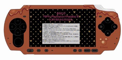 ディズニー PSP-3000シリーズ専用チョコシリコンカバー チョコレート(2012年1月発売予定)