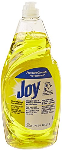 Joy 45114 Lemon Scent Manual Pot and Pan Detergent, 38 Ounces (Case of 8) - 1