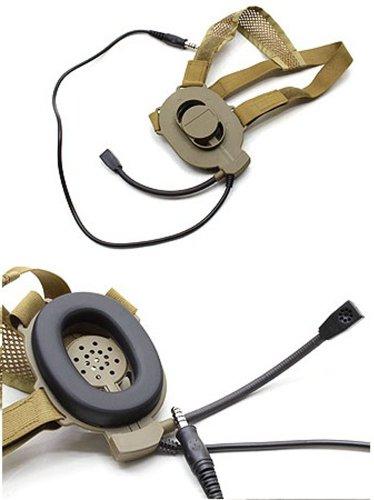 Z Tactical Combat Bowman Elite Ii Headset Tan