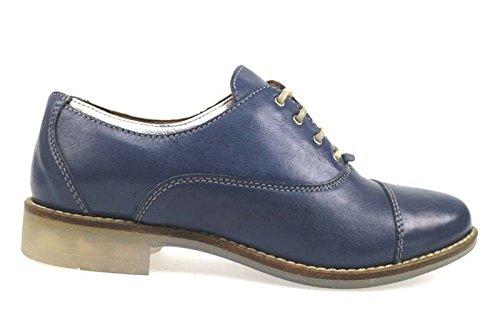 MICHEL BATIC AP915 classiche donna pelle blu