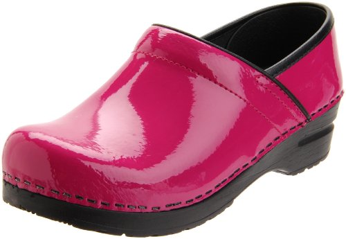 Sanita Women's Professional San Flex Closed Back,Fuschia Patent,40 EU/9.5-10 M US