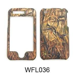 Apple iPhone 3G / 3GS Camo/Camouflage Hunter Series, w/ Ducks  Hard Case/Cover/Faceplate/Snap On/Housing/Protector