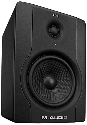 M-Audio BX5 Single   Enceinte de Monitoring Active 70W Compacte - Système Audio Mac et PC de Référence pour Création Multimédia