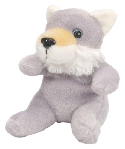 4.5in Itsy Bitsy Wolf Plush Animal