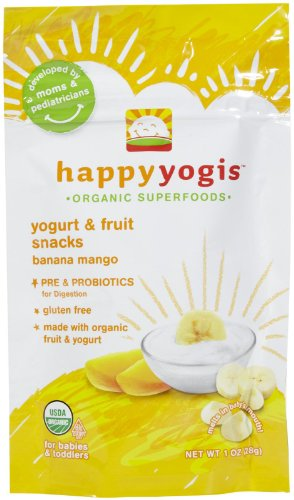 Happy Baby Organic Banana Mango Yogurt Happy Melt, 1 Ounce -- 8 per case. - 1