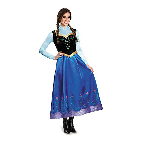 Disguise Women's Anna Traveling Prestige Adult Costume
