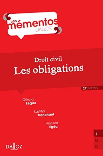 Droit civil. Les obligations - 21e éd.