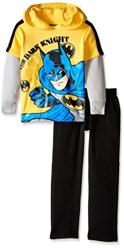 DC Comics Boys' 2 Piece Batman Fleece Hoodie Set at Gotham City Store