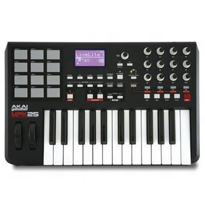 Akai MPK25 MIDI-Controller