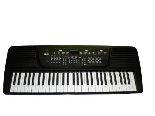 Purchase 54 Keys Keyboard Student Electronic Digital Piano - Black - with Notes Holder & AC Adap...