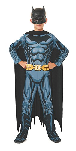 Rubies Dc Super Heroes Child Batman Costume, Small front-1027185