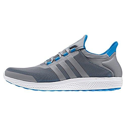 adidas Performance Men's Cc Sonic M Running Shoe, Grey/Tech Grey/Shock Blue, 10 M US