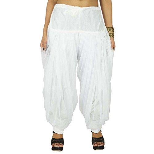 Shantung salwar avec filet Dupatta femmes Wear Bottom Indian Clothing