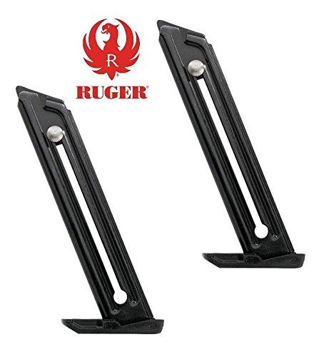 Details for 2 pack Ruger MK III 22 45 22 45 10rd Lite Magazine 10 round .22 LR MK3 Mag 90229 from GhillieSuitShop