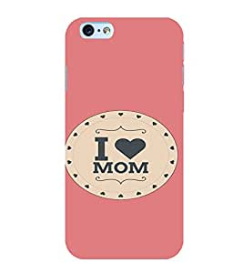 PrintVisa Mom Mother Quotes Design 3D Hard Polycarbonate Designer Back Case Cover for Apple iPhone 6S