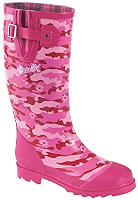 ih s pink camo rubber boot