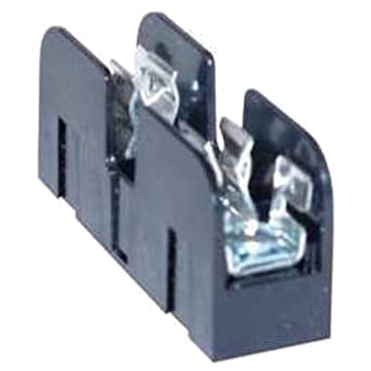 Mersen 30359T Class T Fuse Block with Box Connector, 300V, #4-14 Cu Wire Size, 30 Ampere, 4 Pole