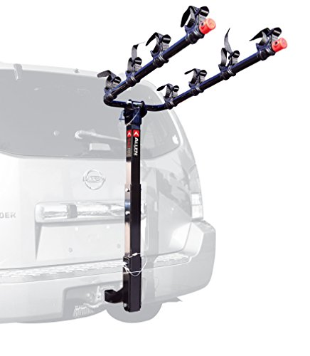 Allen Sports Deluxe 4-Bike Hitch Mount Rack with 2-Inch Receiver (Thule Toyota Tacoma Rack compare prices)