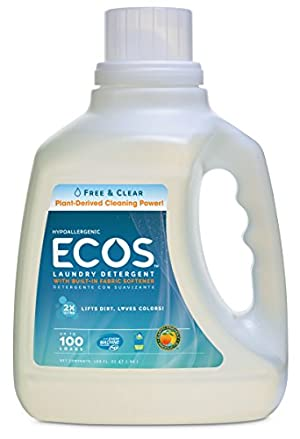 Earth Friendly Products Ecos Liquid Laundry Detergent  Free & Clear