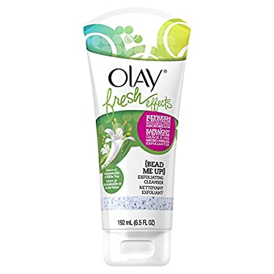 Olay Fresh Effects Bead Me Up Exfoliating Cleanser, 6.5 Fluid Ounce