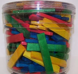 Vo-Toys Hamster / Bird Chew Sticks 144 count Jar