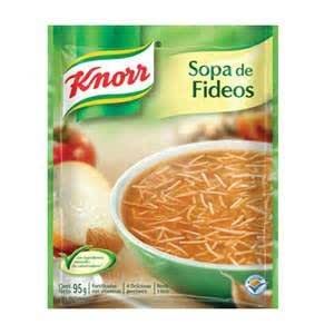 Amazon.com : Knorr Tomato Fideos Pasta Soup Set of 6 Bags