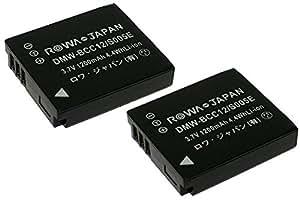 【実容量高】【2個セット】 RICOH リコー Caplio GR G600 G700 GX200 R3 R4 R5 の DB-60 DB-65 互換 バッテリー【ロワジャパンPSEマーク付】