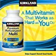 Kirkland Signature Premium Performance Multivitamin, 300 Tablets each (Pack of 2)