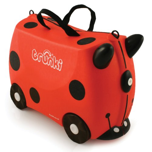 Trunki Harley the Ladybug Ride-on Suitcase