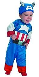 Disguise Marvels Super Hero Squad Captain America Infant Costume