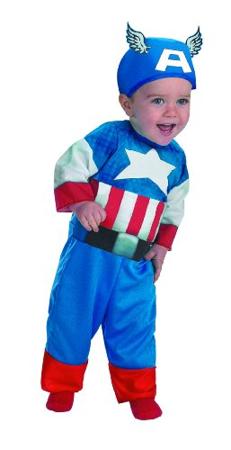Disguise Marvels Super Hero Squad Captain America Infant Costume