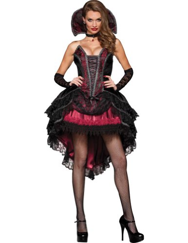 Vampire Vixen Adult Costume Lg 12-14 Adult Womens Costume