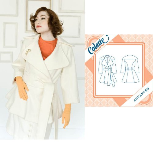 Colette Lady Grey Coat Pattern By The Each