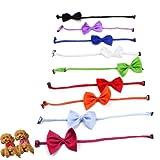 dog cat adjustable bowknot gentleman necktie for wedding