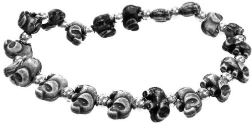 The Trrtlz Bracelet Elephantz Black - 1