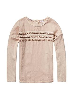Scotch R'Belle Camiseta Manga Larga (Rosa)