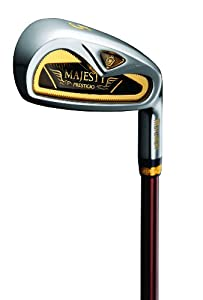 Maruman Golf Prestigio Gold Premium Irons, Set of 8 (5-PW, AW, SW, RH, Graphite, Regular Shaft)