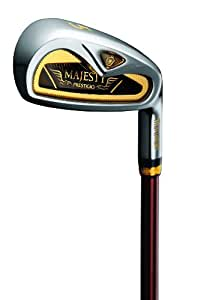 Maruman Golf Prestigio Gold Premium Irons, Set of 8 (5-PW, AW, SW, RH, Graphite, Regular Shaft)
