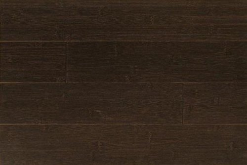 3ft Amerique Horizontal Espresso (Burnt Mocha) Solid Bamboo Flooring (6 inch Sample)