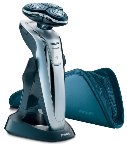 Philips RQ1260 SensoTouch GyroFlex 3D Rechargeable Rotary Shaver With Travel Pouch