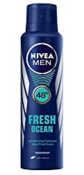 Nivea Men Fresh Ocean Deodorant, 150ml
