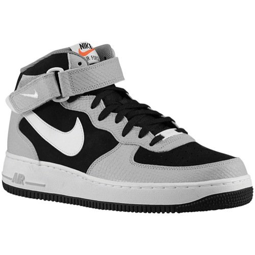 Nike Air Force 1 MID '07 Schuhe black-white-wolf grey-cool grey - 40