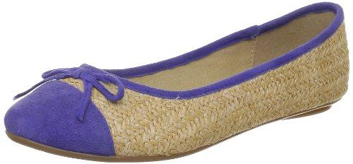 Derhy Womens Carmel Ballet Flats Blue Blau (Bleu royal) Size: 38