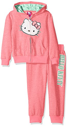 hello-kitty-girls-little-girls-french-terry-active-set-neon-heather-pink-5