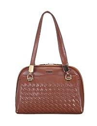 Adamis Beautiful Designed Handbag (Tan_B725)