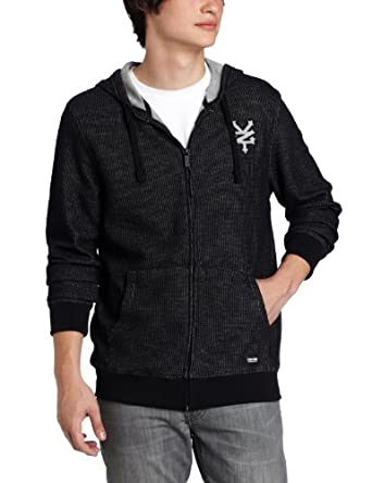 Zoo York Men's Uptown Hoody, Black, Small