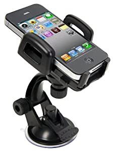 IBRA® Windshield Car Mount Holder for iPhone 6 / 6 Plus 5 5C 5S 4S 4 3GS Samsung Galaxy S2 S3 S4 S5