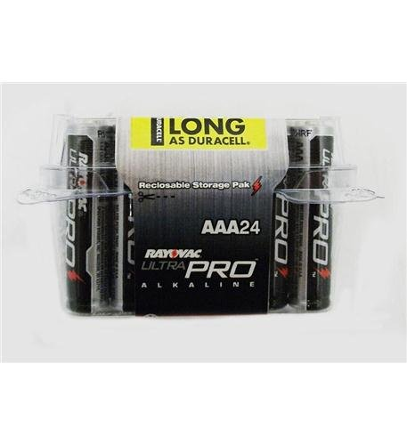 Rayovac Ultra Pro Alkaline Batteries, AAA, 24/Pack (Touch Vac compare prices)
