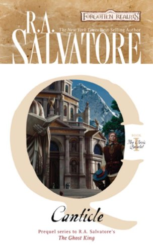 a character analysis of cadderly in canticle by ra salvatore Ra salvatore -- the complete book list browse  the most popular character from the most popular fantasy world  seeking out the help of the priest cadderly.